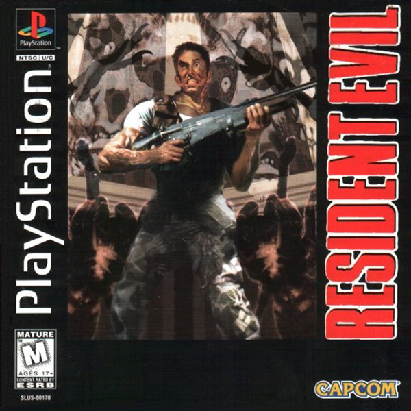 Resident Evil [U] Front Cover